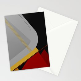 Abstract Composition 413 Stationery Cards