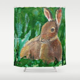 The Pause Shower Curtain