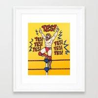 wwe Framed Art Prints featuring Daniel Bryan (WWE) by RandallTrang