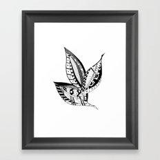 Leaves of Three Framed Art Print