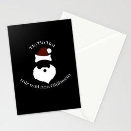 Santa Claus Ho Ho Stationery Cards