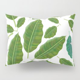 Jungle Leaves Pillow Sham
