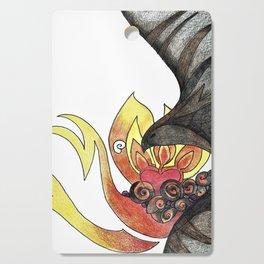 Ash and Flame Cutting Board