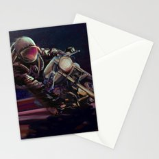 cosmic cafe racer Stationery Cards