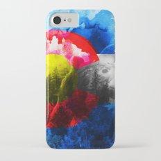 Colorado flag iPhone 7 Slim Case