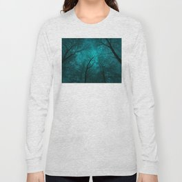 Simply Stare Upward (Dark Winter Sky) Long Sleeve T-shirt