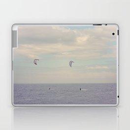 Kitesurfing on the St-Lawrence river (Québec, Canada) Laptop & iPad Skin