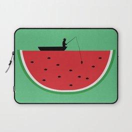 Watermelon Fisher Laptop Sleeve