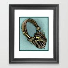 HEAD PHONE Framed Art Print