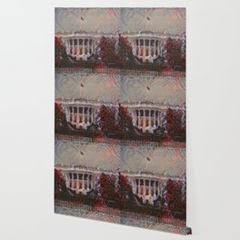White House Black Windows Wallpaper