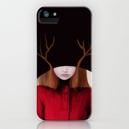 the tangled trees of louise iPhone Case