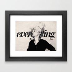 Everything Framed Art Print