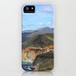 Looking Back at the Bixby Bridge iPhone Case