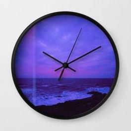 Dusk Light Leak Wall Clock