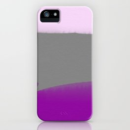 Violet & Gray iPhone Case