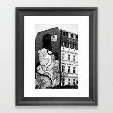 Untitled 3 - Berlin Framed Art Print