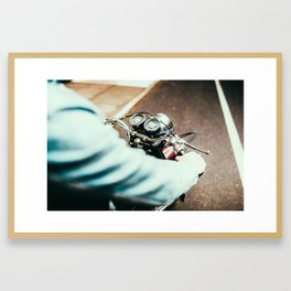 '70 Triumph Framed Art Print