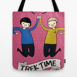 Trek Time Tote Bag