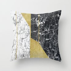 marble hOurglass Throw Pillow