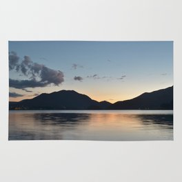 Silver sunset Rug