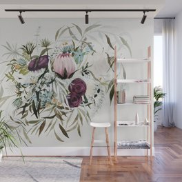 Rustic and Free Bouquet Wall Mural