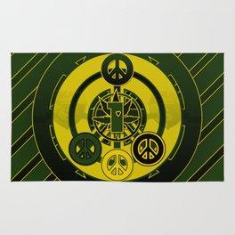 One Love (Green) Rug