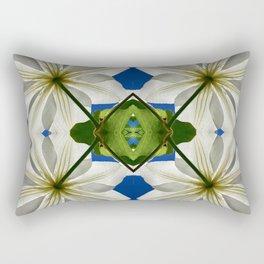 Clematis Solaris Rectangular Pillow