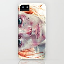 my eyes refuse to accept passive tears iPhone Case