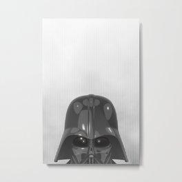 Darth Vader Bottom Metal Print