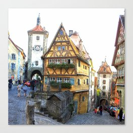 Rothenburg20150903 Canvas Print