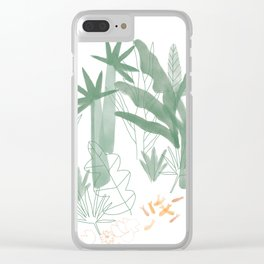 Hot House Clear iPhone Case