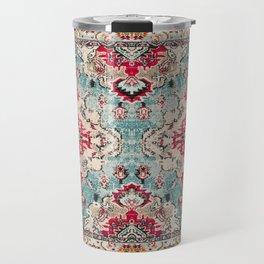 Heritage Farmhouse Style Traditional Oriental Moroccan Artwork Travel Mug