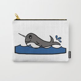 Narwhal Splash Carry-All Pouch