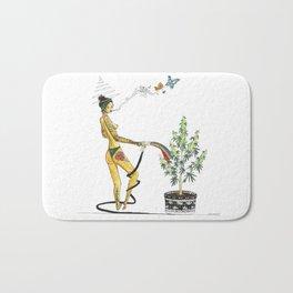 Rainbow Weed Babe - Higher Life Bath Mat