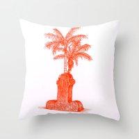 shiva Throw Pillows featuring Shiva. by Laramo