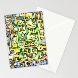 Shape Of Things Stationery Cards