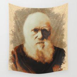 Charles Darwin, Scientist Wall Tapestry