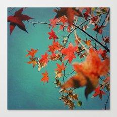 Leaf Constellation Canvas Print