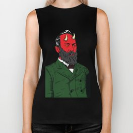 James Abaddon Garfield Biker Tank