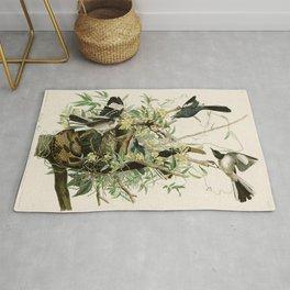 Mocking Bird - John James Audubon's Birds of America Print Rug