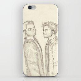 Dean & Cas iPhone Skin