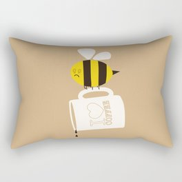 Need. Coffee. Now. Rectangular Pillow