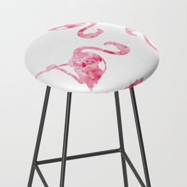 flock of flamingos Bar Stool
