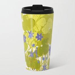 Plant life in violet palette Travel Mug