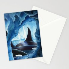 Killer Whales, Orcas Stationery Cards