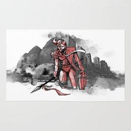 "Barbarica ""Barbarian Man"" Rug"