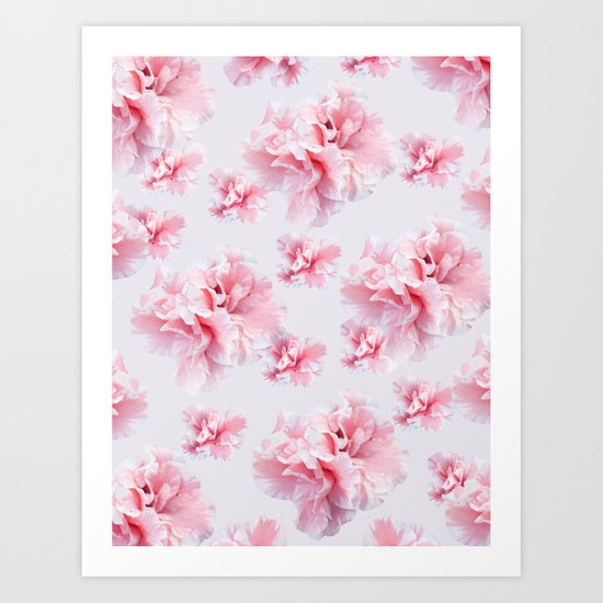 Pink Azalea Flower Dream #1 #floral #pattern #decor #art #society6 by anitabellajantz