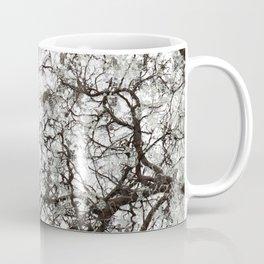 Winter White Hunting Camo Pattern Hunter Camouflage Coffee Mug