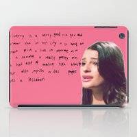 glee iPad Cases featuring glee 1 by Willow Summers