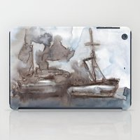boats iPad Cases featuring Boats by Marine Koprivnjak